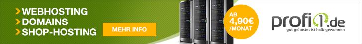 Webhosting für Profis